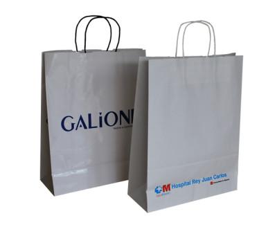 fabricante de bolsas de papel asa rizada 2